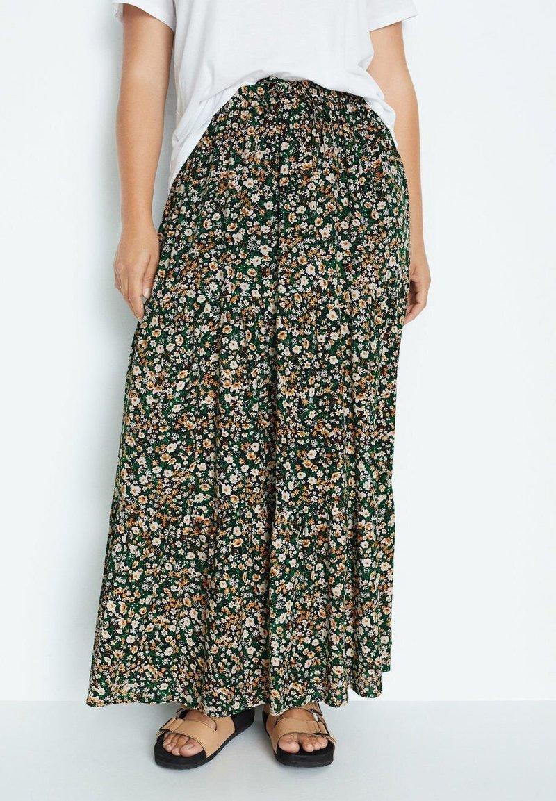 Violeta by Mango - SUMMER - A-line skirt - grün