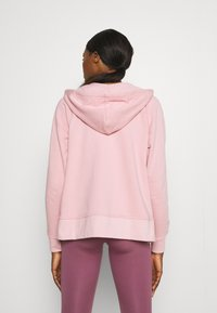 Nike Performance - DRY GET FIT - Zip-up sweatshirt - pink glaze/white - 2