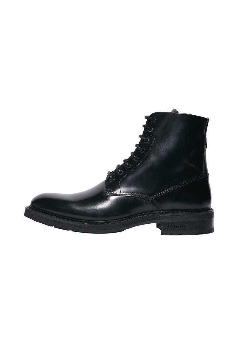 AllSaints - BRITT - Lace-up ankle boots - black