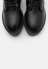 Even&Odd - Platform ankle boots - black - 5