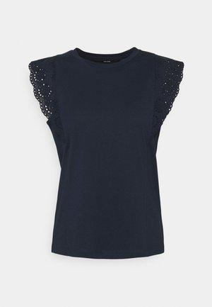VMHOLLYN - Print T-shirt - navy blazer
