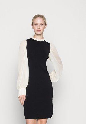 YASVICTORIA DRESS - Vestido de punto - black