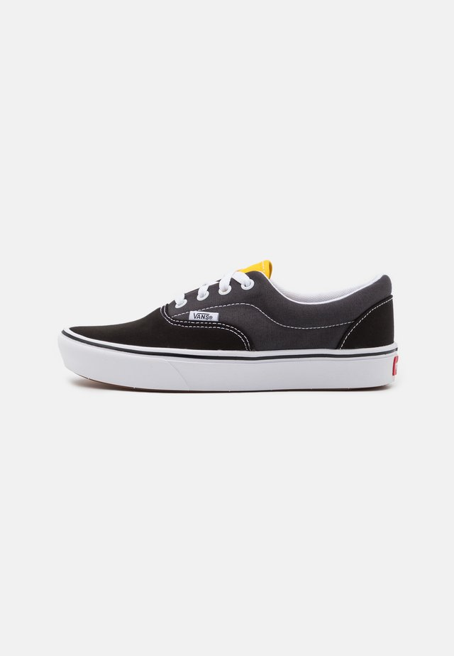 COMFYCUSH ERA - Trainers - black/asphalt/lemon chrome