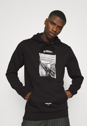 JORSCREAM HOOD - Sweatshirt - black
