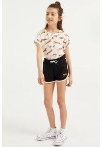 WE Fashion - 2-PACK - Shorts - black - 1