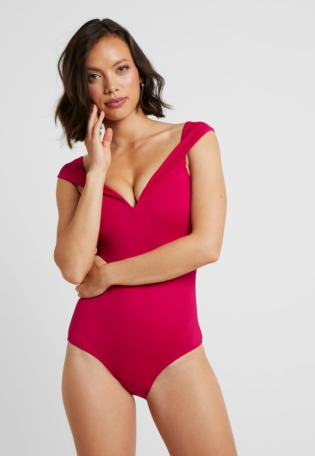 SWIMSUIT - Swimsuit - raspberry