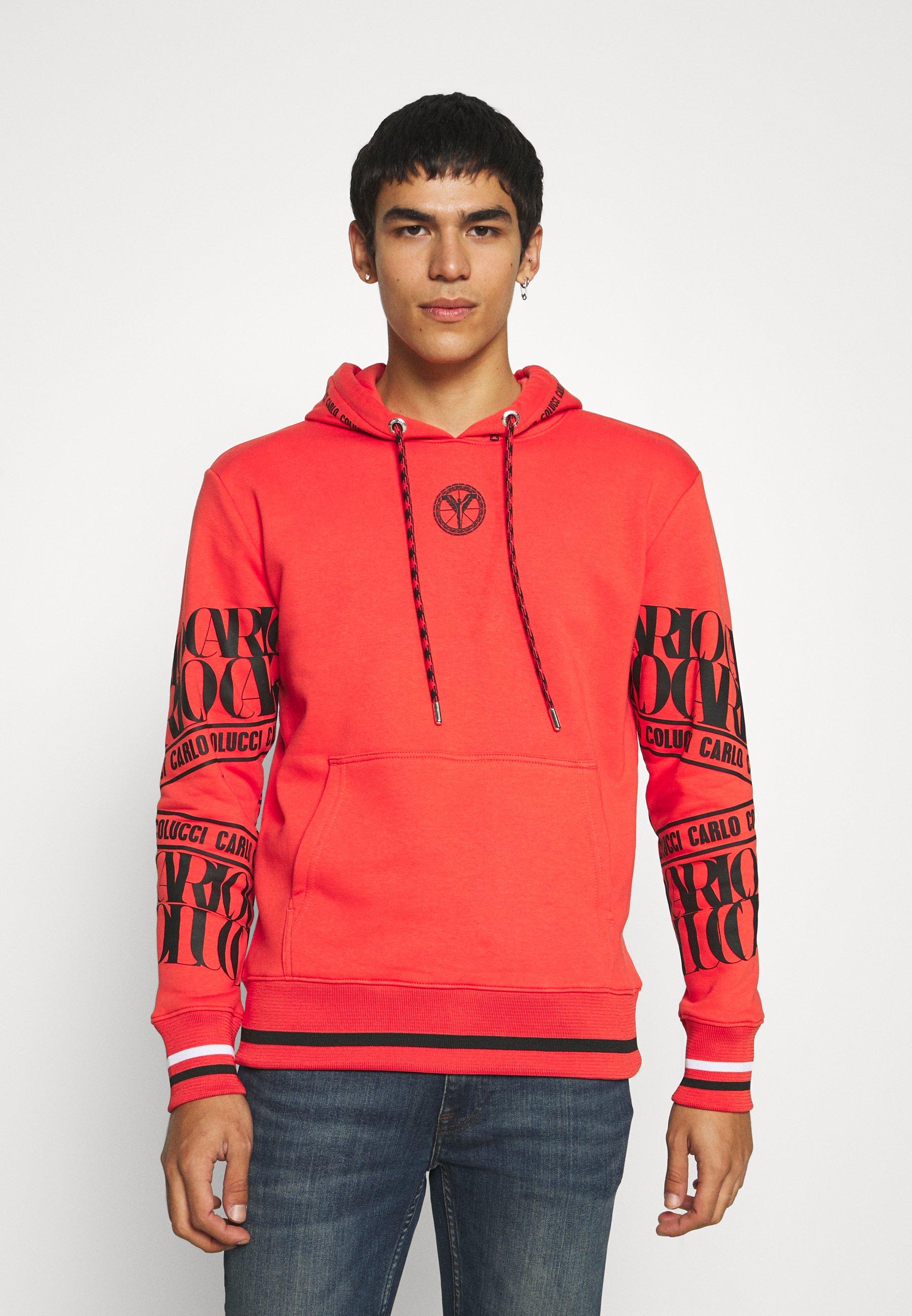 Homme ORANGE BOX HOODY UNISEX - Sweatshirt