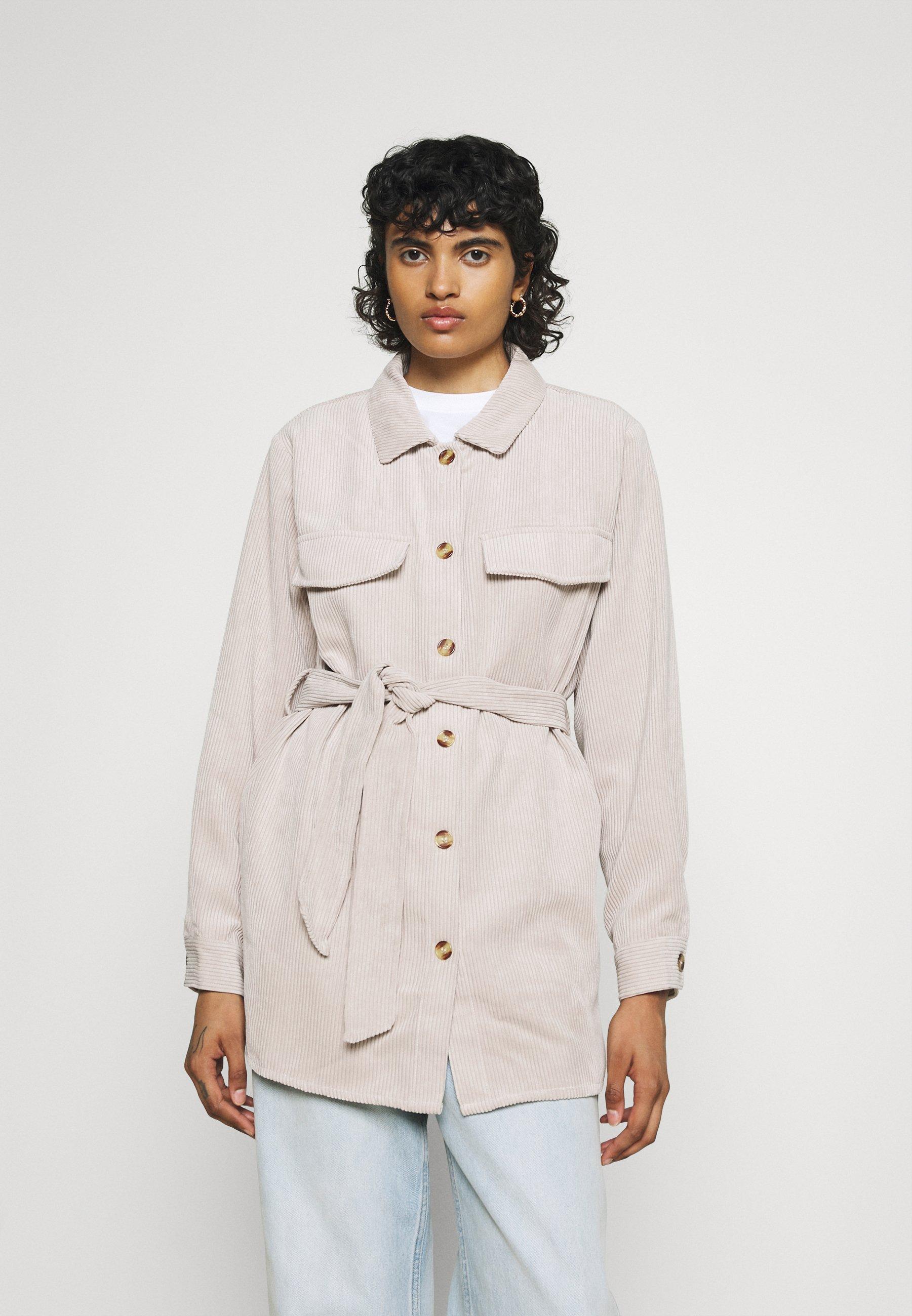 Women PCSEFFI TIE SHIRT - Short coat