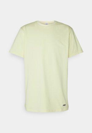 BOX LOGO TEE - T-shirt basic - faded yellow