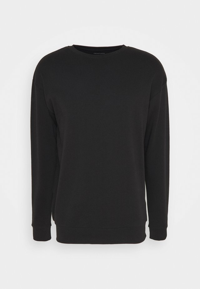 CREWNECK UNISEX - Sweater - black