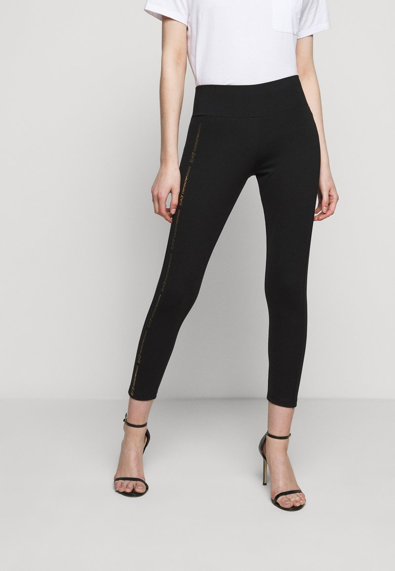 EA7 Emporio Armani - Leggings - Trousers - black
