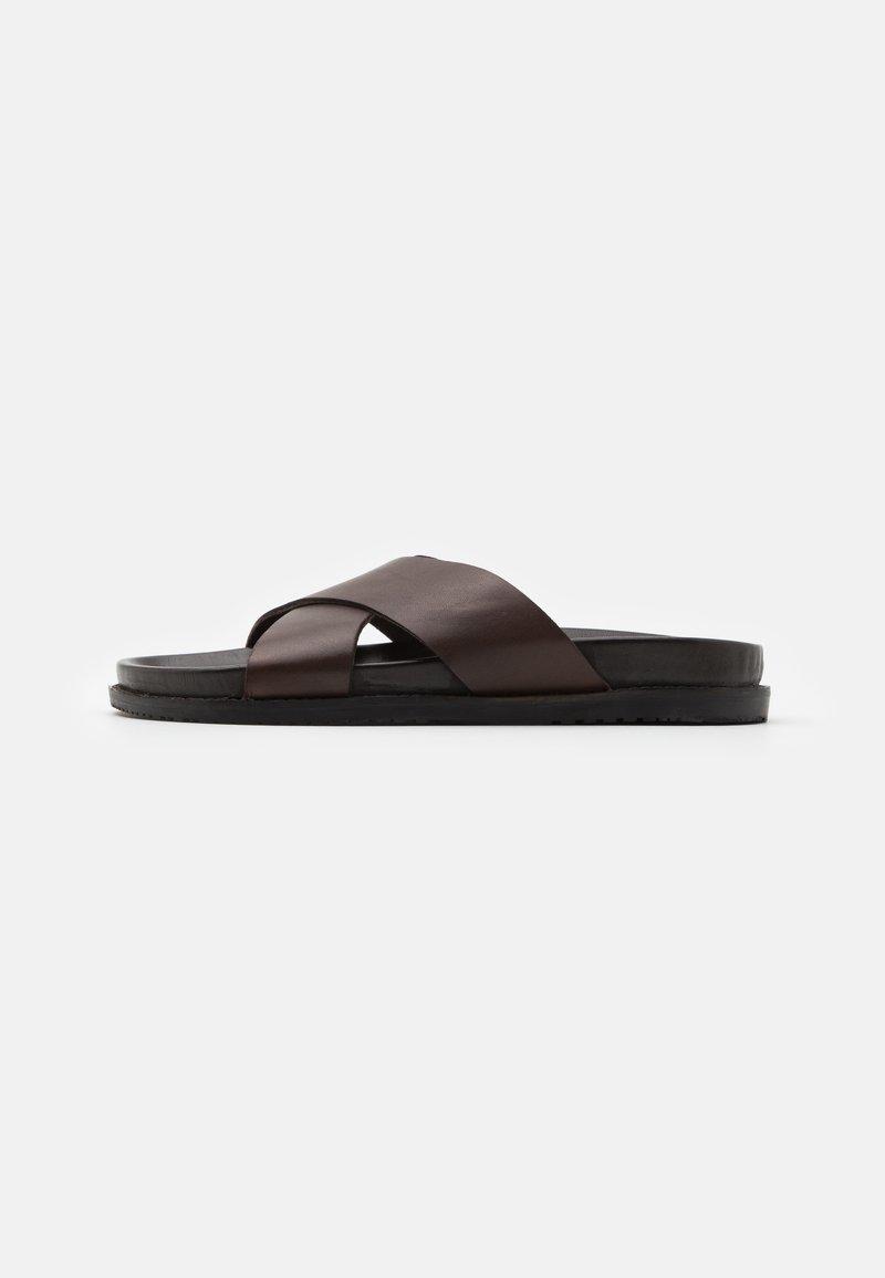 Zign - Pantofle - dark brown