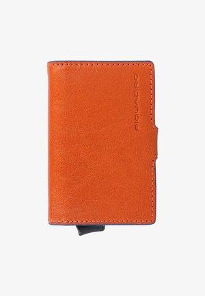 Visitekaarthouder - orange