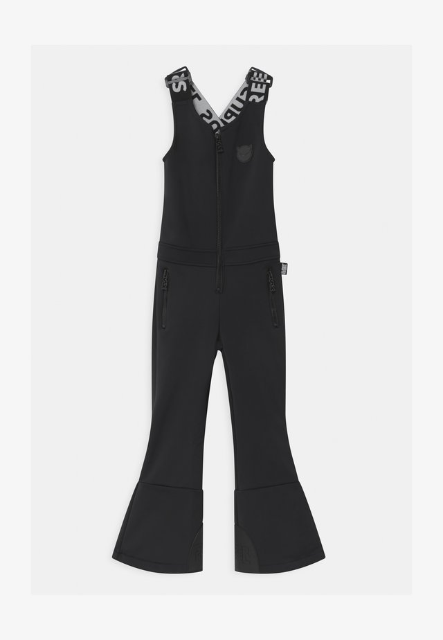 SUSTSAINABLE FUNCTIONAL DUNGAREE UNISEX - Talvihousut - black