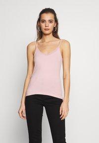 Even&Odd - 2 PACK - Top - light pink, black - 2