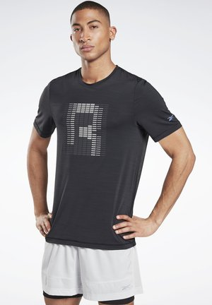 RUN ACTIVCHILL GRAPHIC - Funktionsshirt - black