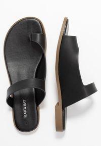 Matt & Nat - HIROE - T-bar sandals - black - 3
