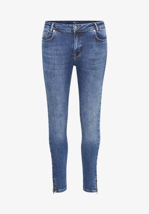 37 THE CILLEZIP HIGH CUSTOM - Slim fit jeans - medium blue wash