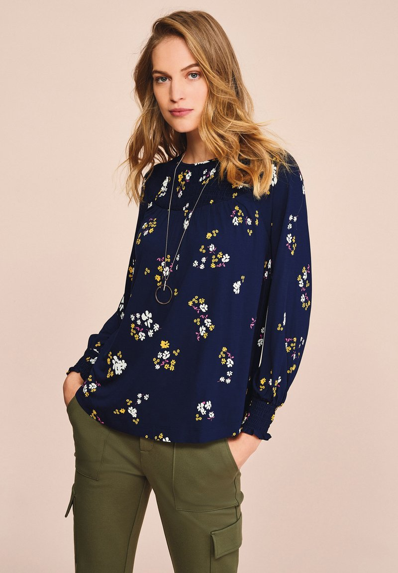 Next - Long sleeved top - dark blue