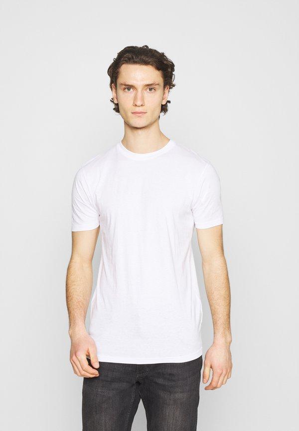 Denim Project 3 PACK - T-shirt basic - white/biały Odzież Męska YXZZ