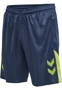 Hummel - LEAD TRAINER KIDS SHORTS - Sports shorts - dark denim - 1