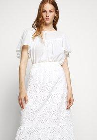Bruuns Bazaar - ABELINA LAURANA SKIRT - A-line skirt - snow white - 3