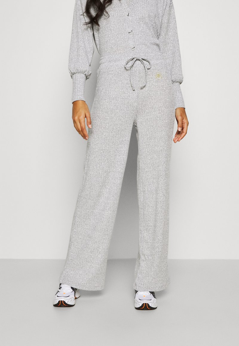 River Island - LOUNGE TROUSER - Trousers - grey