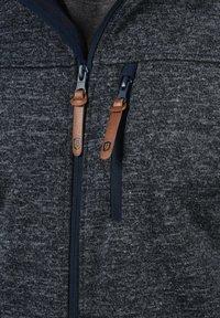 INDICODE JEANS - Zip-up hoodie - dark blue - 3