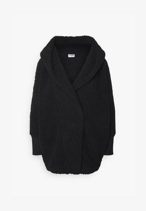 NMCUDDLE COATIGAN - Winter coat - black