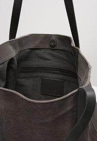 KIOMI - LEATHER - Tote bag - anthrazit - 4