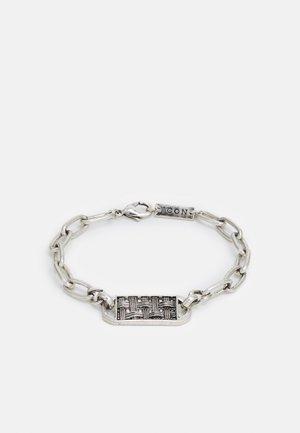 TEXTURED BAR BRACELET - Bracelet - silver-coloured