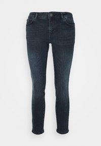 Vero Moda Petite - VMELLA - Skinny džíny - dark blue denim/black - 4