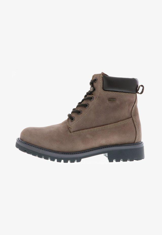 KLONDIKE - Lace-up ankle boots - braun