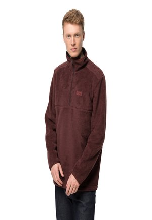 CHILLY WALK - Fleece jumper - cordovan red