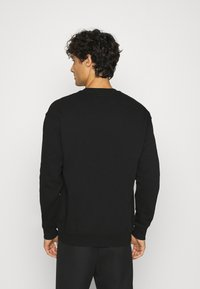 Benetton - CREW NECK - Felpa - black - 2