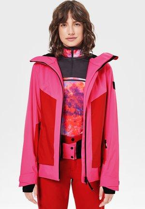 Ski jacket - pink/rot