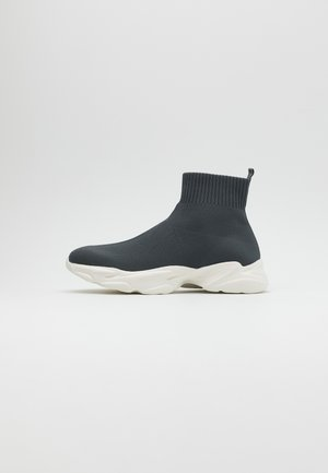 BIACASE SOCK - Sneakersy wysokie - dark grey