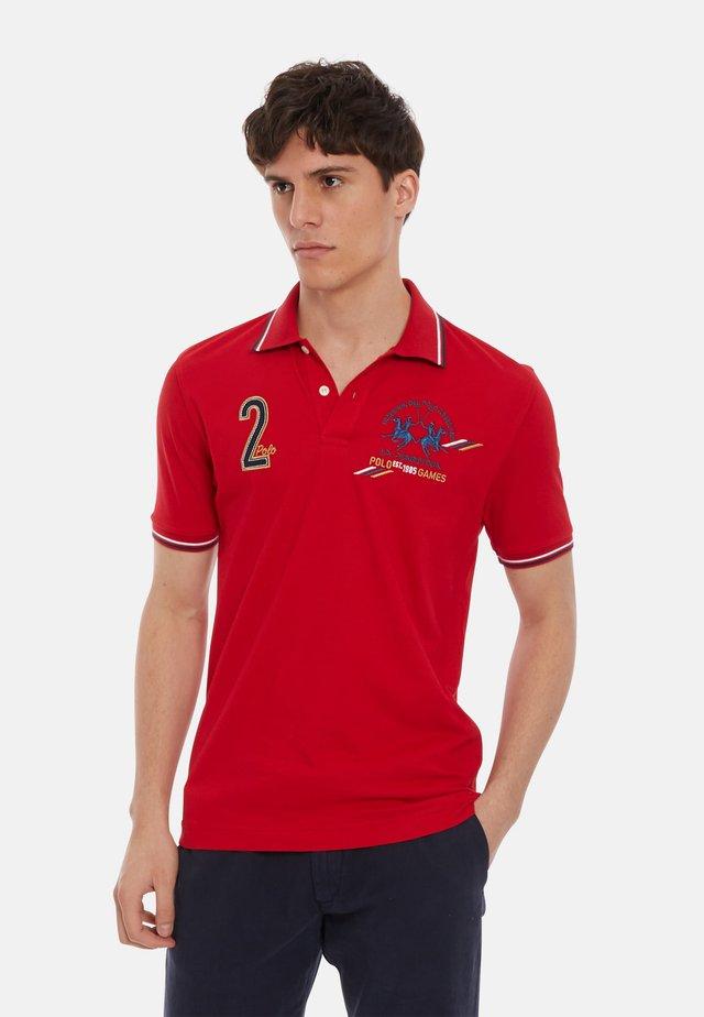 PUKKA - Koszulka polo - red