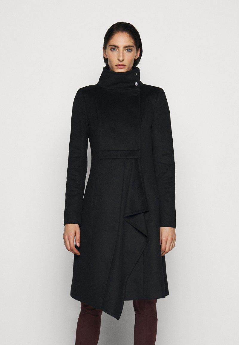 Patrizia Pepe - CAPPOTTO COAT - Zimní kabát - nero