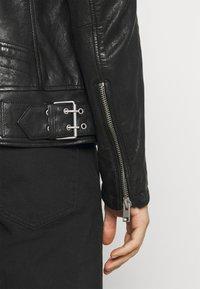Gipsy - BENNET - Leather jacket - black - 3