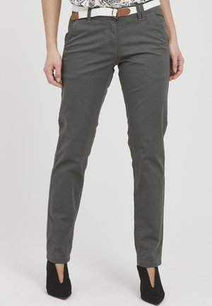 CHAKIRA - Chinos - dark grey