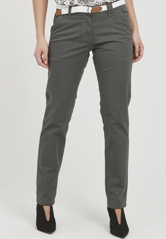 CHAKIRA - Chino - dark grey
