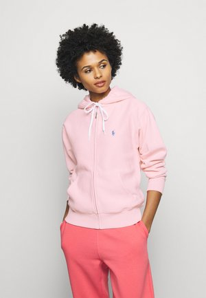 SEASONAL  - veste en sweat zippée - resort pink