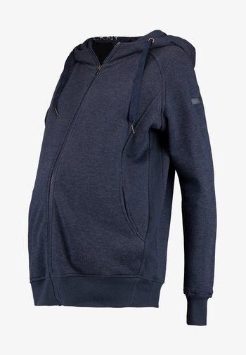 CONNOR - Sweater met rits - navy