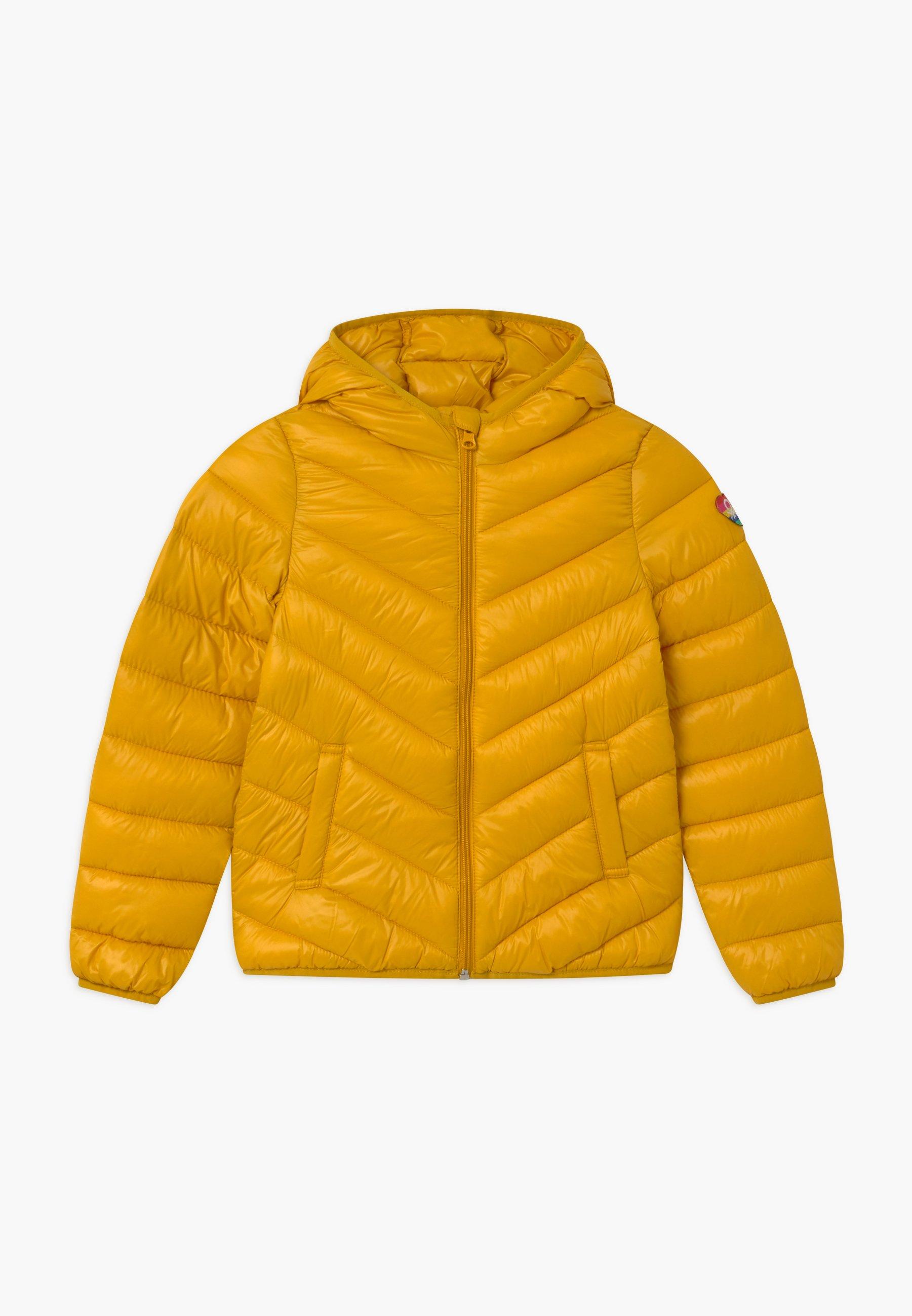BASIC GIRL Winterjas yellow