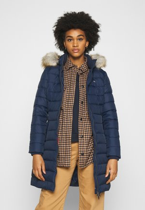 ESSENTIAL HOODED COAT - Abrigo de plumas - twilight navy