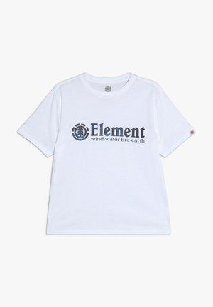 BORO BOY - T-shirt con stampa - optic white