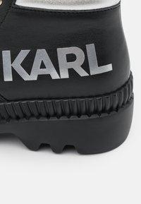 KARL LAGERFELD - TREKKA  - Schnürstiefelette - black - 6