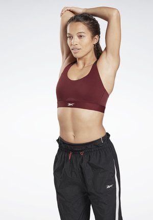 REEBOK HERO HIGH-IMPACT POWER BRA - Sports-bh'er - burgundy