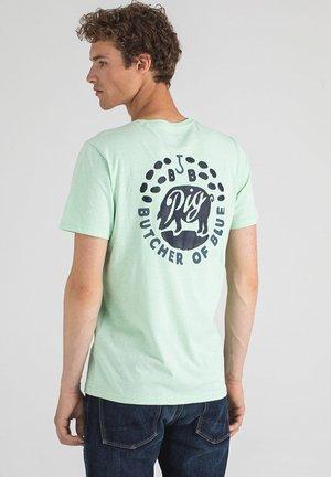 FRESCO PIG - T-shirt print - jade green